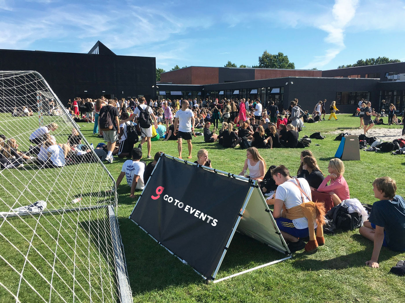 Sommerfest med efterskole